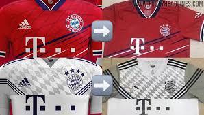 Fotos oficiales de la tercera camiseta. Fakes Adidas Bayern Munchen 20 21 Home Away Kits Leaked Based On Designs Of Concept Designer Footy Headlines