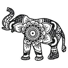Elephant Mandala Coloring Pages New Elephant Coloring Pages For