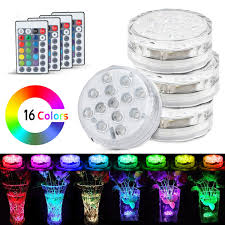 Efx Led Lights Led Light 4x Remote Control Color Colored Boundery Style