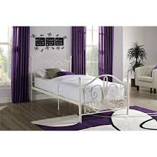 Metal Bedroom Furniture Bombay Traditional Metal Bed Single White Beds Bed Frames