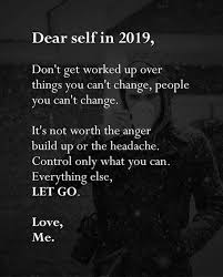 Rightnote To Self For 2019 Out Of The Abundance Of The