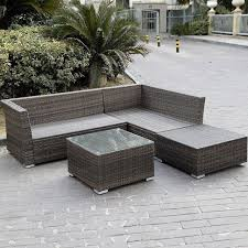 gorgeous cushions for outdoor sectional giantex 6pc patio sectional furniture set deck couch outdoor