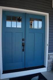 painted double front door. I Really Like The Double Doors For Entry But Would Add Transom Windows Above Painted Front Door F