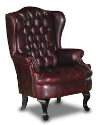 the nadia red wing back chair is available in many colours but looks great in the traditional red leather call now to discuss this great chair