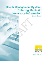 health management system entering caid insurance information guide hms guide