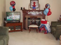 spiderman superhero birthday party ideas games