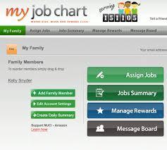 My Online Job Chore Chart