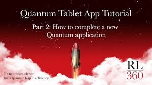 rl deg quantum tablet app tutorial part how to complete an rl360deg quantum tablet app tutorial part 2 how to complete an application