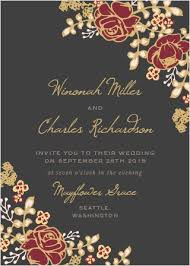 Wedding Card Design Wedding Invitations Match Your Color Style Free