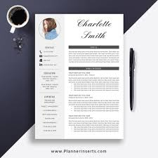 What Is Needed For A Modern Resume Professional Clean Resume Template 2019 Cover Letter Office Word Resume Simple Cv Template Creative Modern Resume Instant Download Charlotte
