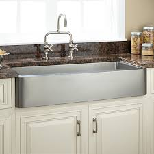 Stainless Steel Kitchen 33 Hazelton Stainless Steel Retrofit Farmhouse Sink Kitchen