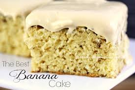 The Best Banana Cake by Spend With Pennies FoodBlogs