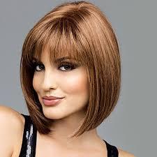 Paruka Na Vlasy Bez Vlasů Přírodní Vlasy Volný Střih Bob Krátké