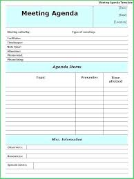 One On One Meeting Agenda Template