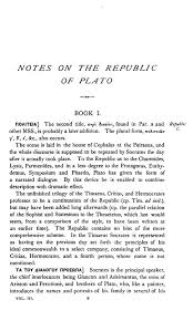 critical commentaries and studies on plato s republic vols  sample pages