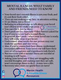 Friends Illness Mental - What Invisible And Illness Facebook Resources Family Health