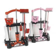 henry hetty toy cleaning trolley