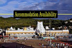 Tirumala Accommodation Availability Chart Ttd Online Accommodation Booking And Also Ttd Provides