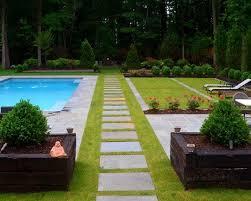 60u0027s Ranch Home Remodel  Love This Modern Backyard Design  60u0027s Home Backyard