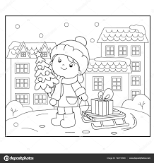 Kleurplaten Kerstmis Nieuwjaar