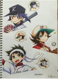Doraemon Bóng Chày Anime - Otaku Wallpaper