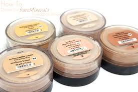 Bareminerals Original Foundation Colour Chart Love Shelbey How To Choose Your Bare Minerals Foundation Shade