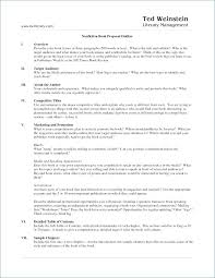 Book Proposal Sample References Format Academic Nonfiction