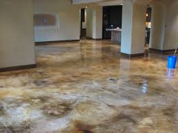acid stained concrete floor. Perfect Floor Photos Of Concrete Dye  This Is A Brown Acid Stain On Raw Concrete With Acid Stained Concrete Floor
