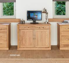 picture mobel oak large hidden office. Mobel Oak Hidden Home Office COR06A Picture Large F