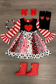 Gifts for kids are a little like valentine's day gifts for him in that they're notoriously tricky. Us Girls And Toddler Valentine S Day Outfit Valentine S Day Dress Ebay In 2020 Valentines Day Dresses Girl Outfits Toddler Valentines