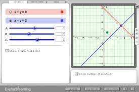solving linear systems matrices and