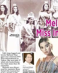Melanie Marquez: miss Int'l, top model - PressReader