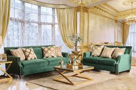 Rosenberg Transitional Style Living Room Transitional Furniture Style A16