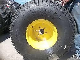 john deere io two new 13 6x16 carlisle john deere 650 750 4 ply turf tractor tires on wheels