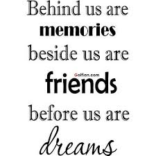 Sayings About Friendship And Memories