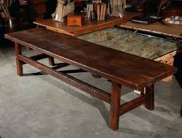 country coffee table a rectangular country style coffee table or bench if you wish it has country coffee table