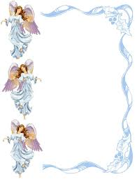 Religious Border Designs Angel Borders And Frames Christian Images In My Treasure