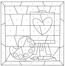 You can tell when you are. Mother S Day Color By Number Free Printable Coloring Pages