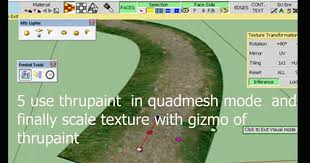sketchup texture sketchup tutorial as perfectly texturize a curved road with thrupaint plugin