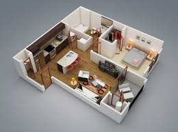 Small 2 Bedroom Cottage Plans 2 Bedroom House Plans By House Planology For A Small Family Home