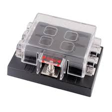dc32v 6 way terminals circuit car auto blade fuse box block holder dc32v 6 way terminals circuit car auto blade fuse box block holder atc ato
