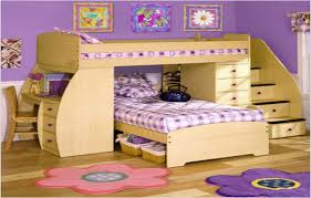 stylish bunk beds for kids with desk twin bed ikea