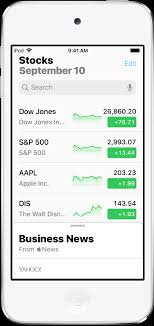 Stock Chart With News Overlay Check Stocks On Ipod Touch Applei Tugi