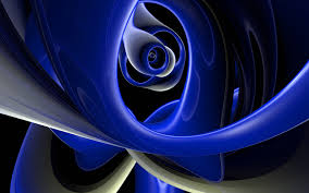 blue 3d abstract wallpapers. Brilliant Wallpapers Impressive Abstract Blue 3D Throughout 3d Wallpapers L