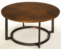 permalink to enchanting round copper coffee table