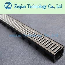 plastic hdpe drainage channel shower drain with cover
