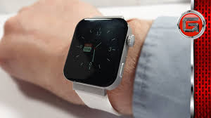 Bakeey <b>Mi5 Smartwatch</b> Review - Replica Apple Watch Unboxing ...