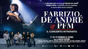 17-19 FEB | Fabrizio De André e PFM - Il concerto ritrovato ...