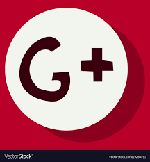 google plus button vector. Wonderful Button Flat Google Plus Icons On Background Vector Image In Google Plus Button Vector E
