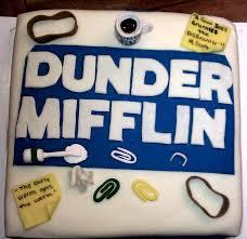 Celebrity Birthday Cake Designs The Office Themed Birthday Cake Tv Movies Celebrity